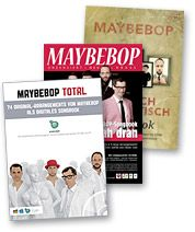Cover MAYBEBOP-Noten