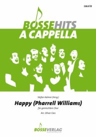 "Umschlag ""Happy"" (Pharrell Williams) SATB"