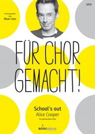 "Umschlag ""School's out"" SATB"