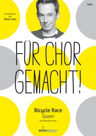 "Umschlag ""Bicycle Race"" SATB"