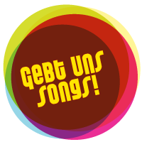 "Button ""Gebt uns Songs"""
