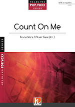 "Umschlag ""Count on me"" SATB"