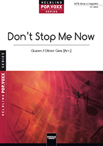 "Umschlag ""Don't Stop Me Now"" SATB"